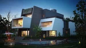 100 Contemporary Bungalow Design Bunglow 3D Architectural Rendering Services 3D