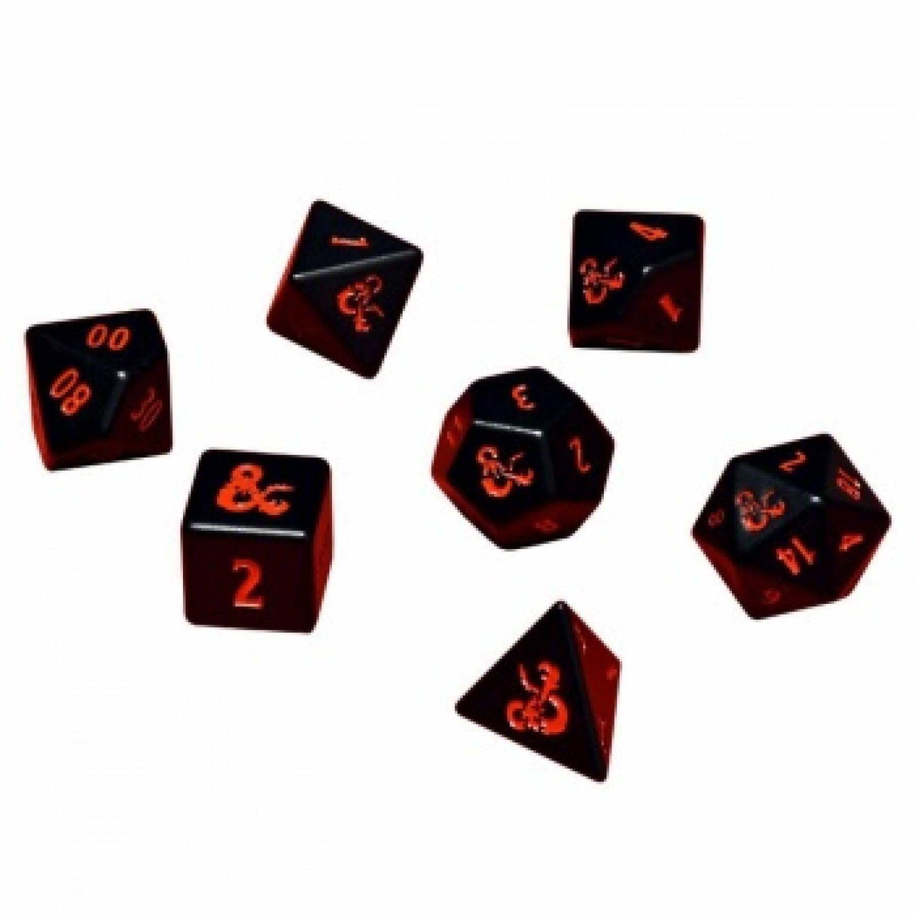 Ultra Pro Dungeons & Dragons: Heavy Metal 7 Dice Set