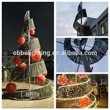 Spiral Lighted Christmas Trees Outdoor by Spiral Lighted Christmas Tree Top U Multi Lighted Christmas