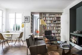 9 Small-Space Ideas To Steal From A Tiny Paris Apartment Eames Lounge Chair Ottoman Armchair Vitra A Colorful And Eclectic Brooklyn Apartment Home Tour Lonny Replica Vintage Brown Walnut Fniture 9 Smallspace Ideas To Steal From A Tiny Paris By Charles Ray 1956 Pnc Real Estate Newsfeed Lovinna Storage Unit Esu Shelf Stock Photos Herman Miller The Century House Madison Wi Ding Portvetonccom