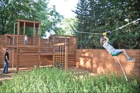 Kid-friendly Yard Makes Parents Want To Play, Too | Kid Friendly ... Backyard Zip Line Alien Flier 2016 X2 Kit Installation Youtube 25 Unique Line Backyard Ideas On Pinterest Zipline How To Construct A 5 Steps With Pictures Wikihow Diy Howto Install Tighten A Zip Line Easy Trick Build Without Trees Outdoor Goods Toy Homemade Summer Activity Play Cable Run For Your Dog Itructions Photos Make Zipline Or Flying Fox At Home Science Fun How To Make Your Own 100 Own
