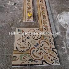 Decorative Marble Stone Border Flooring Designs
