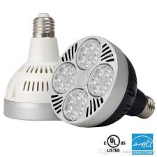 2018 Led Par30 Bulb Light 25w 35w 40w Par Lights With Cooling Fan