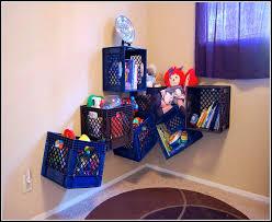 Plastic Crate Storage Ideas