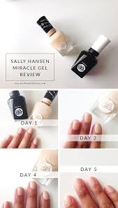 28 best miracle gel sally hansen canada images on pinterest