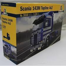 100 Model Truck Kits Italeri 124 3910 SCANIA 143M TOPLINE 4 X 2 MODEL TRUCK KIT
