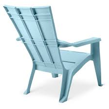 Adams Adirondack Chair Pool Blue by Outdoor Square Back Adirondack Chair Blue Curver Target