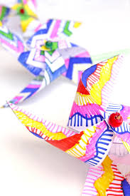 Template Easy Kids Paper Crafts Decorate And Make Your Own Op Art Pinwheels