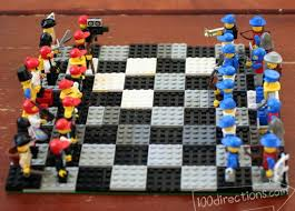LEGO Chess Game We Built Ourselves
