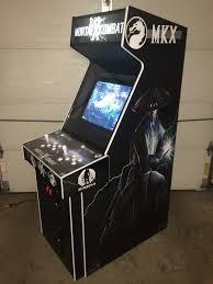 X Arcade Mame Cabinet Plans by Mortal Kombat X Arcade Machine