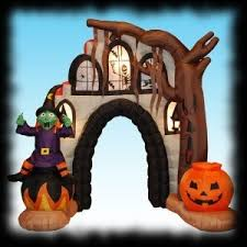 Airblown Inflatable Halloween Yard Decorations by Haunted House Party Ideas For Halloween