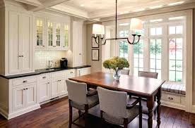 Dining Room Built Ins Gorgeous Designed With Bay Window And In Cabinets Table Bench