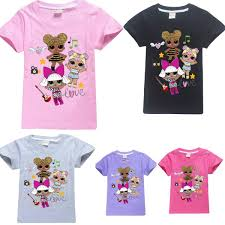 143 GBP Lol Surprise Dolls Game Kids TShirts Tops Outfits