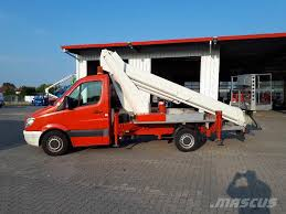 100 Mateco Truck Equipment Used Ruthmann TB 270 Truck Mounted Aerial Platforms Year 2010 For