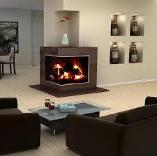 Corner Electric Fireplace Media Center