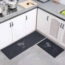 lange anti rutsch küche matte flur bad teppich runner teppich set lange staubdicht schlafzimmer teppich