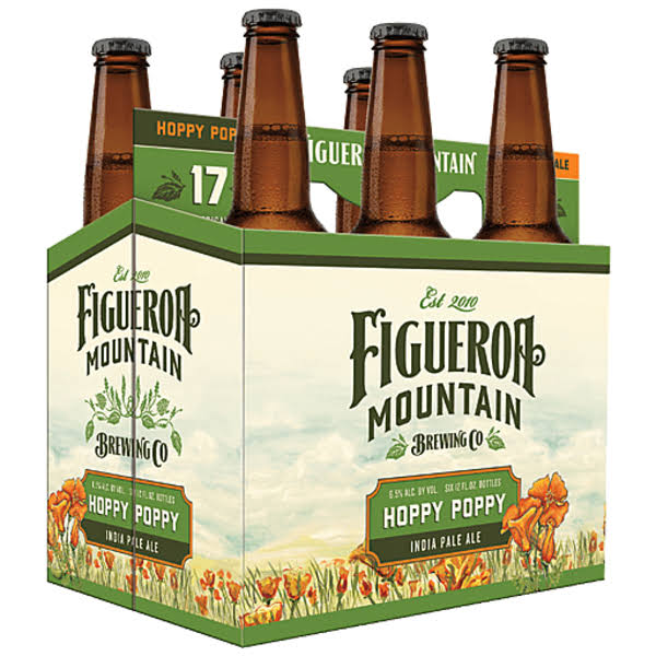 Figueroa Mountain Hoppy Poppy IPA (6Pkb 12 oz)