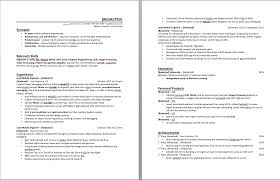 Looking To Get My Software Engineering Resume Rated :) : Resumes