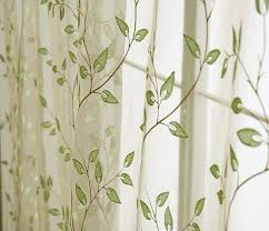 Fabric For Curtains Cheap by Leaf Pattern Curtains Google Search Home Decorating Ideas