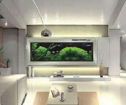 aquarium dans le mur aquarium mur l exotisme dans votre salon