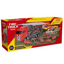 JOYIN 10 In 1 Die-cast Fire Engine Vehicle Mini Rescue Emergency ...