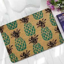 fruits imprimé paillasson ananas en caoutchouc non dérapant tapis
