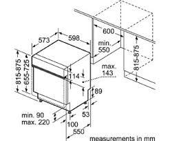 Bosch Serie 4 SMI50C16GB Semi Integrated Standard Dishwasher