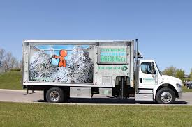 100 Shred Truck Lethbridge Mobile Ding Inc Ding Recycling