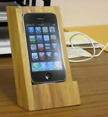 DIY Wooden IPhone Stand A Cool And Elegant Made From The Wood In Barrels