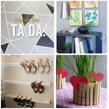 Easy Diy Projects For Home Decor Wallpaper Garage