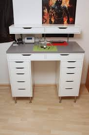 Linnmon Corner Desk Hack by Endearing Ikea Alex Desk Hack 21 Ikea Desk Hacks For The Most