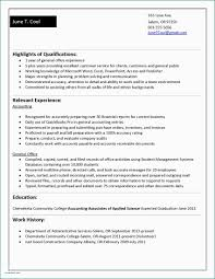 Resume Sample No Work Experience College Student Cover Letter For Recent Graduate With