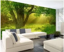 3d wandbilder wallpaper für wohnzimmer natur dschungel hintergrund 3d tapete für zimmer 3d angepasst tapete