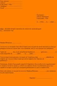 recherche emploi commis de cuisine 6 exemple lettre de motivation restauration format lettre