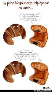 Humour Images Fun Croissant Contre Pain Au Chocolat Ou Chocolatine