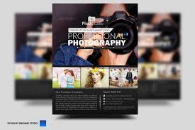 Photography Flyer Templates Photoshop Unique Template For Every Of Artist