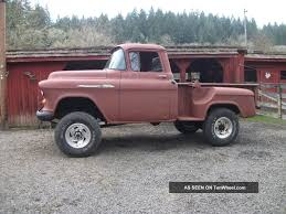 100 Chevy Stepside Truck For Sale 1955 4x4 Lifted S Schematic Library