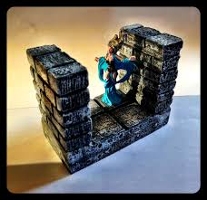 Making 3d Dungeon Tiles by Miniatures Set Of 3d Dungeon Master Molds Unlimited Dungeon
