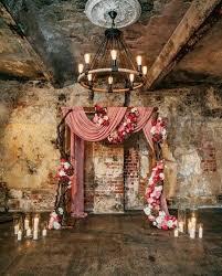 For A Rustic Indoor Wedding Ceremony