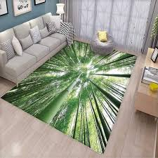 Amazoncom Bamboo Bath Mats For Floors Tropical Rain Forest Tall
