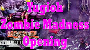 yugioh structure deck two zombie madness first edition opening