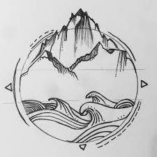 Best 25 Ocean Tattoos Ideas On Pinterest