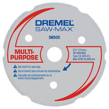 Dremel Tile Cutter Disc by Dremel Saw Max 3 In Carbide Multi Purpose Wheel For Wood Plywood