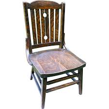 Heywood Wakefield Chairs Antique by Antique Arts U0026 Crafts Quartersawn Fumed Oak Mission Youth