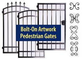 Wrought Iron Electronic Driveway Gates Gate Openers Access