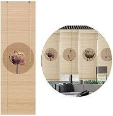de gdming bambus raffrollo fenster sichtschutz