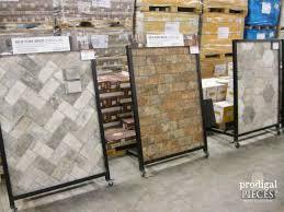 brick look ceramic floor tile tile flooring design