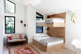 Cb2 Alpine Bed by Scandi In Seattle A Midcentury Makeover With Lots Of Affordable