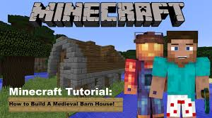 Minecraft Tutorial: How To Build A Medieval Barn House! - YouTube Jgrtcnitfbnjt On Twitter Minecraft Tutorial How To Build A Minecraft Farm Idea Google Search Pinterest To A Horse Barn Youtube Part 1 Complex Small House Medieval Make Police Car Building House Modern In Youtube Arafen Gaming Xbox Xbox360 Pc House Home Creative Mode Mojang How Build Tutorial Easy Cow Gothic