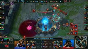 Bbq Pit Sinking Spring by Echo Fox Vs Counter Logic Gaming Na Lcs 2017 Spring Week 8